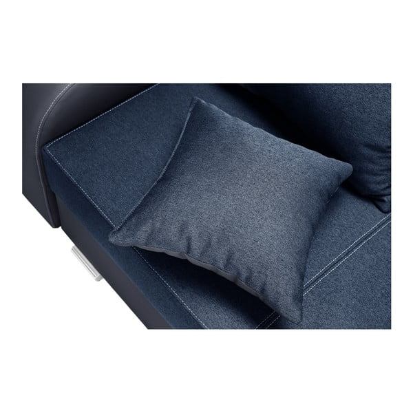 Destin sötétkék kanapé, bal oldalas - Interieur De Famille Paris