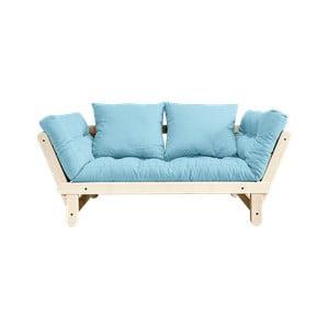 Beat Natural/Light Blue kinyitható kanapé - Karup Design