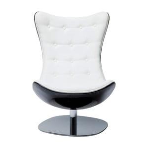 Atrio fehér forgó karosszék - Kare Design