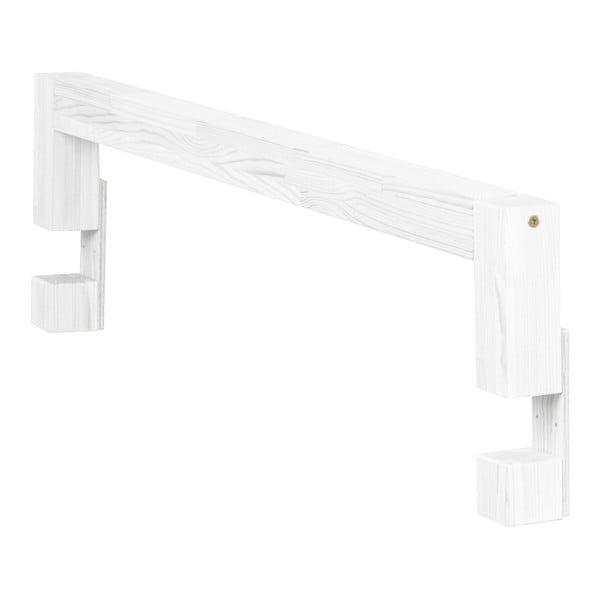 Safety szürke fenyő ágyra szerelhető oldalfal, hossz 90 cm - Benlemi
