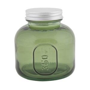 Coperchio zöld újrahasznosított üveg tárolóedény, ⌀ 9 cm - Mauro Ferretti