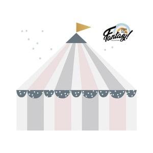 Circus Pastel falmatrica, 72 x 80cm - Dekornik