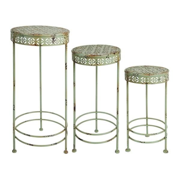 Pierre 3 db-os virágtároló asztalkészlet - Esschert Design