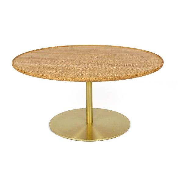 Softy dohányzóasztal tölgyfa asztallappal - Askala