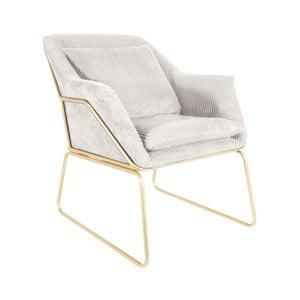 Glam fehér fotel - Leitmotiv
