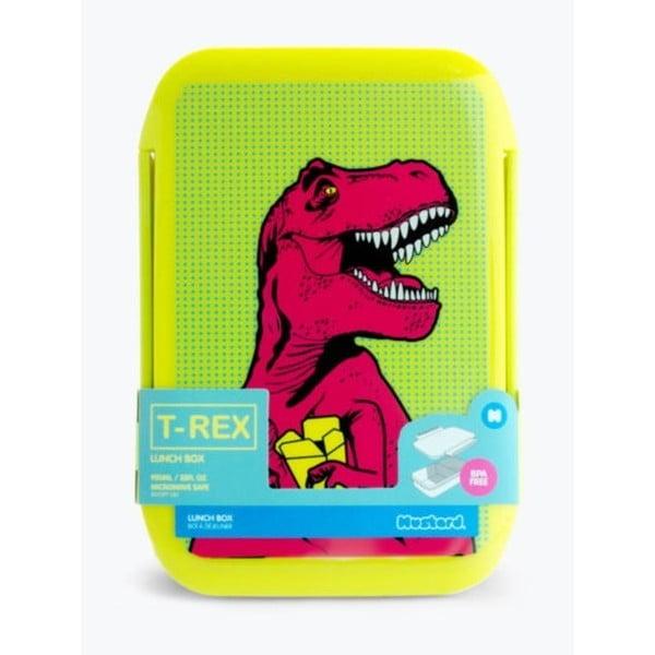T-Rex ebédes doboz, 2 l - Just Mustard