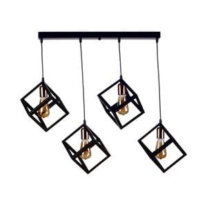 Rectangularo mennyezeti lámpa, 4 izzóval