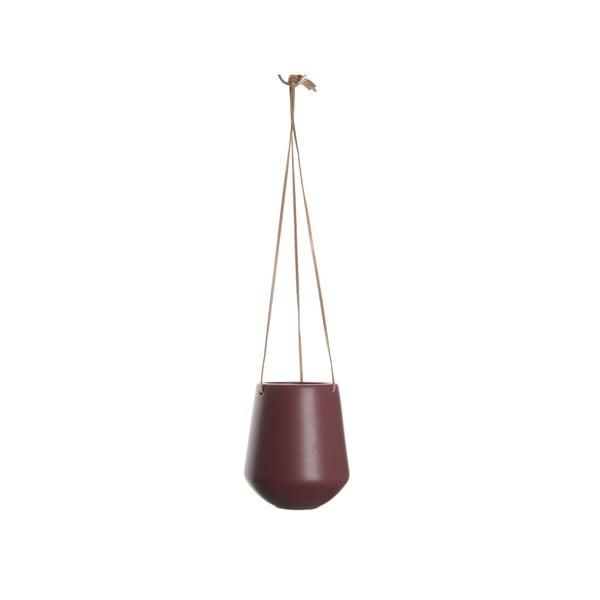 Skittle sötétpiros függő kaspó, ⌀ 13,5 cm - PT LIVING