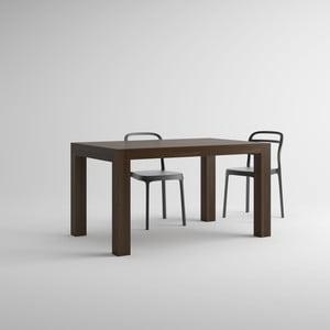 Iacopo diófamintás bővíthető étkezőasztal, hossza 140-220 cm - MobiliFiver