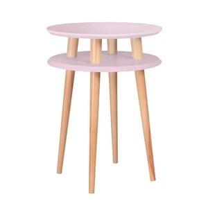 UFO rózsaszín dohányzóasztal, Ø 45 cm - Ragaba