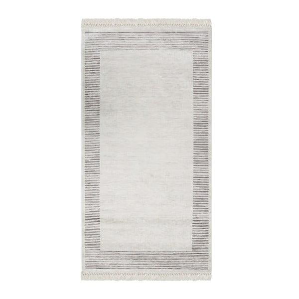 Deri Dijital Rosuna Gray bársonyszőnyeg, 80 x 150 cm