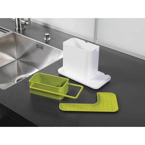 Caddy Sink Tidy zöld-fehér mosogatóeszköz tartó állvány - Joseph Joseph