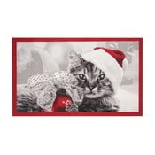 Christmas Cat lábtörlő, 45 x 75 cm - Hanse Home