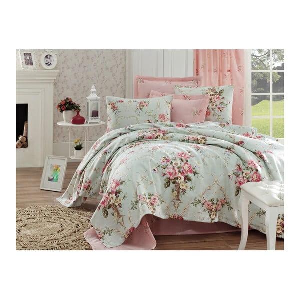 Romantic Breeze vékony pamut ágytakaró, 200 x 235 cm