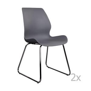 Sola 2 db-os szürke székkészlet - House Nordic