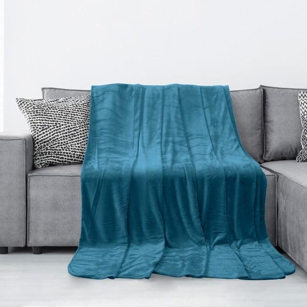 Tyler indigókék mikroszálas takaró, 220 x 240 cm - AmeliaHome