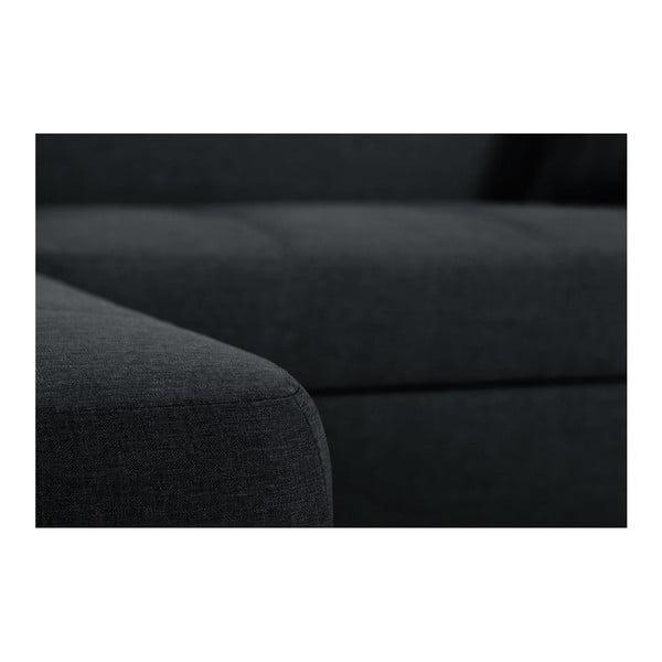 Bijou fekete kanapé, bal oldalas - Interieur De Famille Paris
