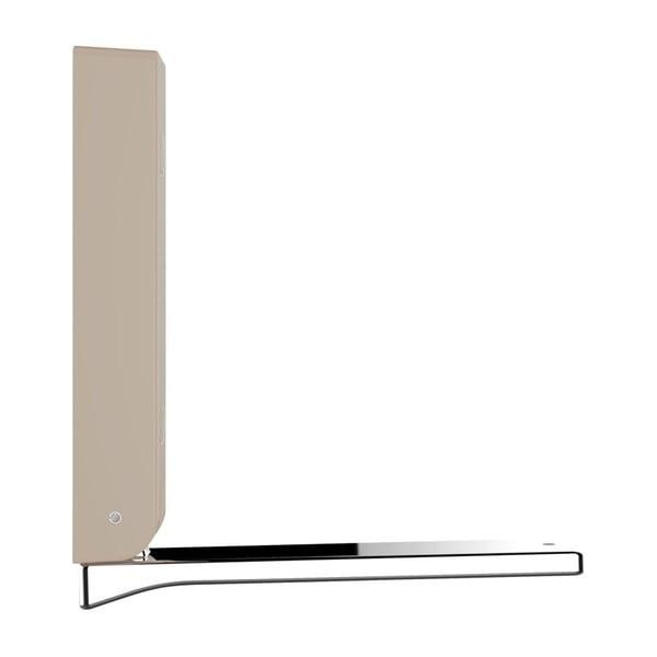 Basic BETA bézs összecsukható fali akasztó - Wenko