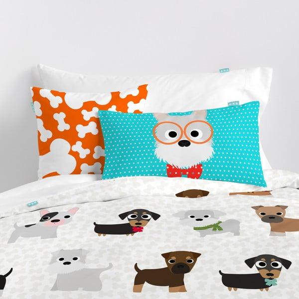 Dogs kétoldalas, pamut párnahuzat, 50 x 30 cm - Mr. Fox