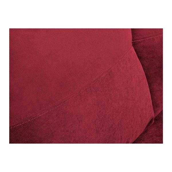 Andy piros háromszemélyes sarokkanapé, ágyneműtartóval - Melart