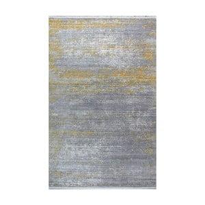 Koberec Shaggy Yellow, 133x190 cm