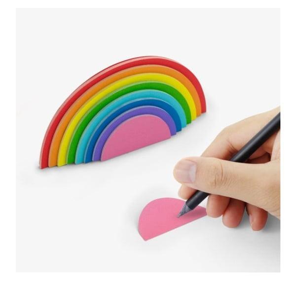 Rainbow öntapadós jegyzettömb - Just Mustard