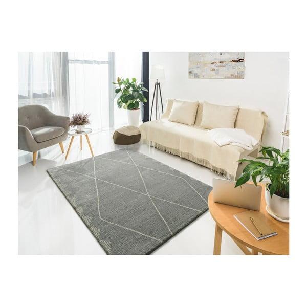 Tanum Duro Plata szürke szőnyeg, 80 x 150 cm - Universal