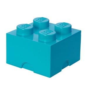 Azúrkék négyszögletes tárolódoboz - LEGO®