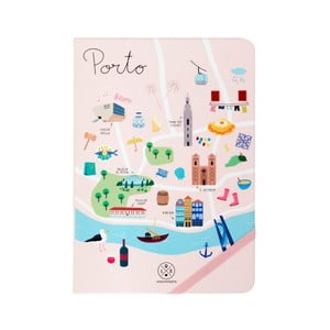 Porto jegyzetfüzet, 160 lapos - Mr. Wonderful