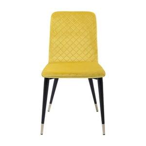 Montmartre 2 db-os sárga étkezőszék készlet - Kare Design