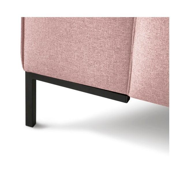 Seville rózsaszín háromszemélyes kanapé - Cosmopolitan Design