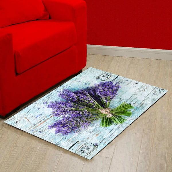 Lavender vinil szőnyeg, 52 x 75 cm - Zerbelli