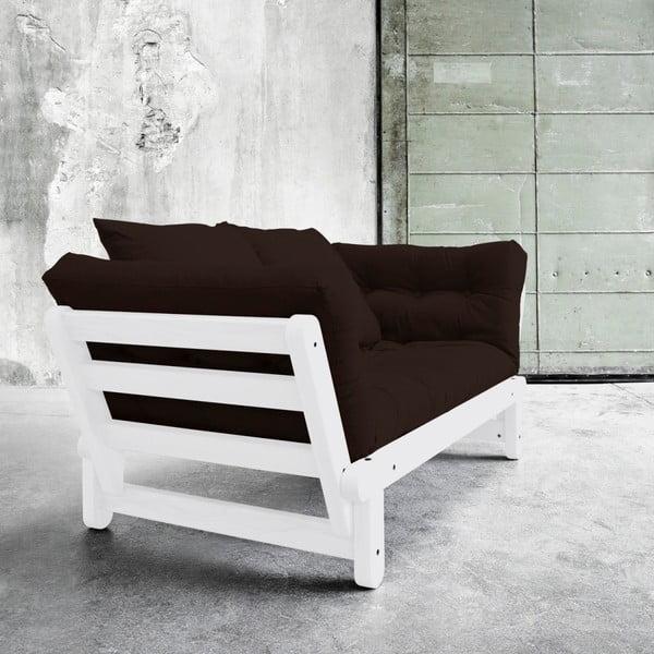 Beat White/Brown kinyitható kanapé - Karup