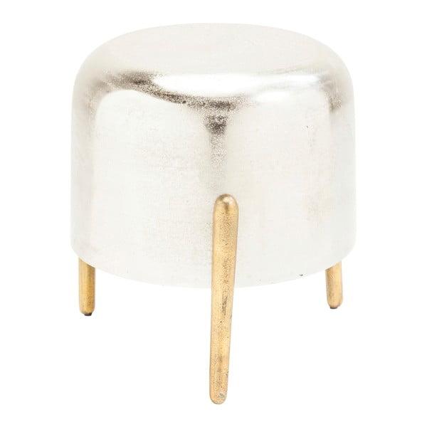 Lumpy ezüstszínű ülőke - Kare Design