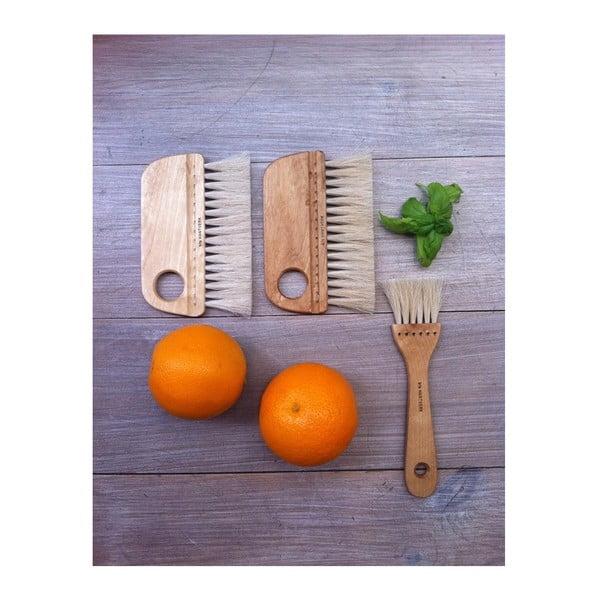 Természetes zöldségkefe természetes szálakból - Iris Hantverk