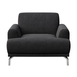 Puzo antracit szürke fotel - MESONICA