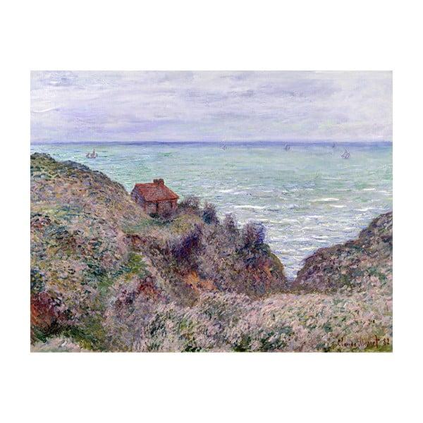 Claude Monet - Cabin of the Customs Watch kép másolat, 50 x 40 cm