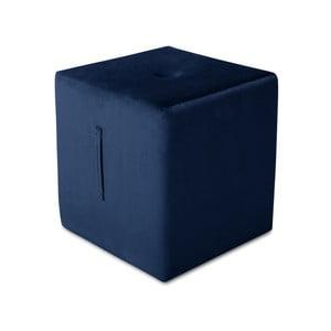 Margaret kék puff, 40 x 45 cm - Mazzini Sofas