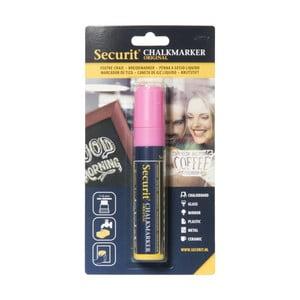Růžový křídový popisovač na vodní bázi Securit® Liquid Passo