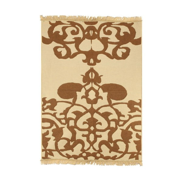 Ya Rugs Agac barna-bézs szőnyeg, 120 x 180 cm