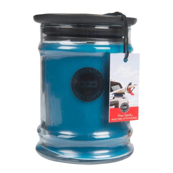 Free Spirit illatos gyertya üveg tartóban, égési idő 140-160 óra - Creative Tops