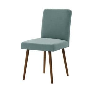 Fragrance mentol zöld bükkfa szék sötétbarna lábakkal - Ted Lapidus Maison