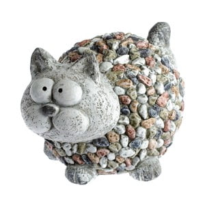 Garden Deco Cat With Stones kerti dekoráció, magasság 20 cm - Dakls