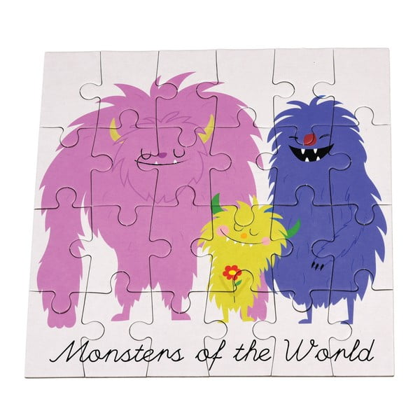 Monsters Of The World puzzle, 24 db-os - Rex London