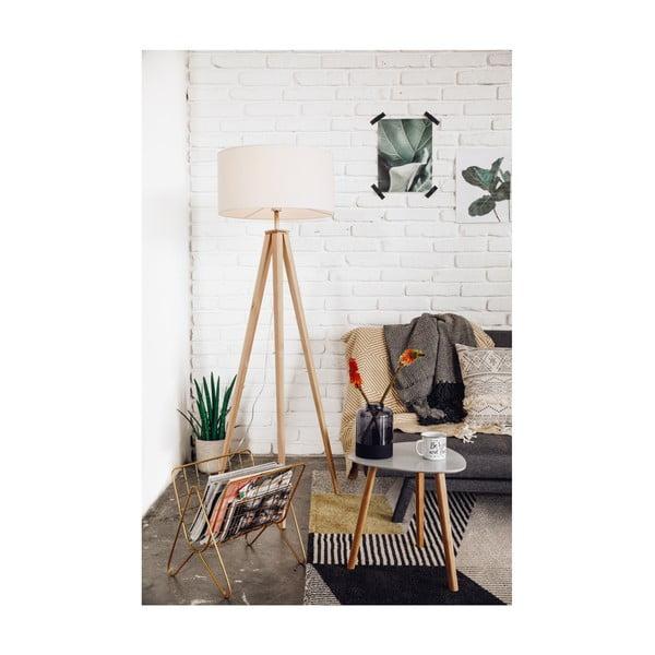 Ozzie sötétszürke kinyitható kanapé, szürke lábakkal - loomi.design