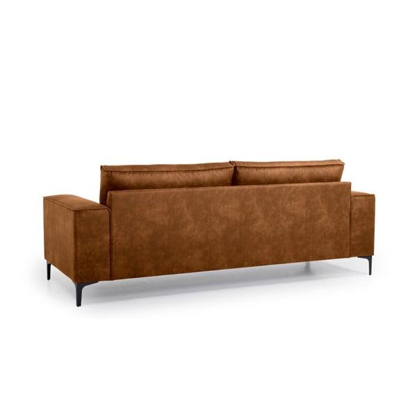 Copenhagen konyakbarna háromszemélyes kanapé - Softnord