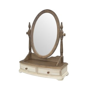 Limena kaucsukfa keretes asztali tükör - Livin Hill