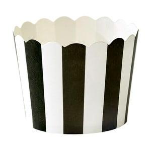 Stripe 24 db-os papír sütőforma szett - Miss Étoile
