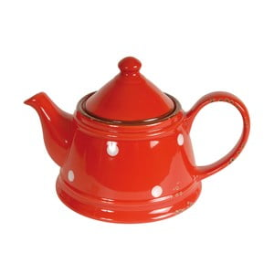 Tea Red piros kerámia teáskanna - Antic Line