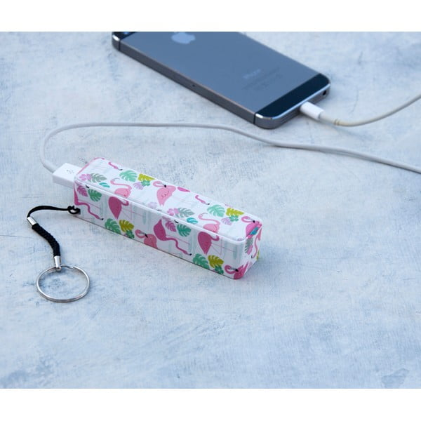 Flamingo Bay power bank - Rex London
